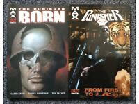 Marvel Punisher Max by Garth Ennis, 12 Graphic Novels, Paperback, Like New, Collection Only