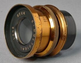 Antique Beck Symmetrical Lens in excellent mechanical and optical condition