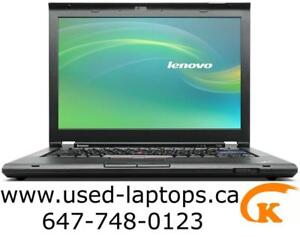 Lenovo T420(I5/4G/250G)$199!hp Elitebook 8440P, (i5/4G/250G/Webcam/New Battery)$179