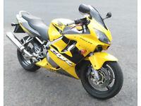 2001 Honda CBR600f F1 - 33k miles