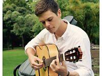 Classical/Jazz Wedding Guitarist
