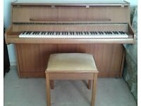 Bentley modern upright piano