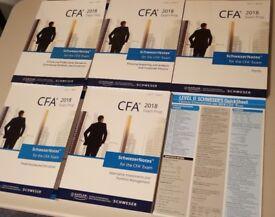2018 CFA Level 2 Schweser Notes & Premium Materials
