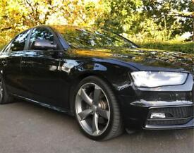 Audi A4 3:0L Black Edition 2012 65k Miles FACELIFT MODEL Bargin !