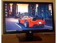 "HP 22"" Full HD LED Monitor (DVI+VGA) 1080p , Slim Monitor for desktop/cctv..."