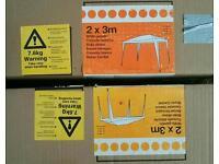 2x Sets of Gazebo Poles (2m x 3m) - perfect as spares
