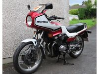 1982 CLASSIC HONDA CBX550 F2 24K miles MOT May-17 suzuki bmw yamaha bsa kawasaki triumph