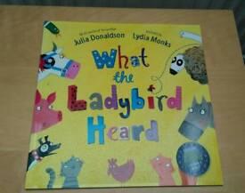 """""""What the Ladybird heard"""" book"""