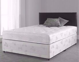 🔥💥**HIGH QUALITY!**🔥💥**Small Double Bed/Double Bed/Single Bed/King With Semi-Orthopaedic Mattres