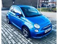 FIAT 500 1.2 S 3d 69 BHP (blue) 2014