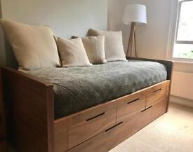 DWELL Buddy bed with extra guest bed,two single mattresses