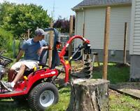 Are you in need of post holes or fence repair?