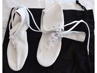 Brand new ladies leather dance / exercise shoes
