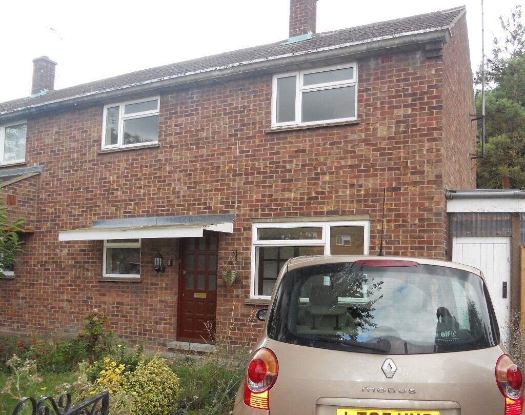 3 Bedroom semi detached house for rent Cambridge CB4 2JS