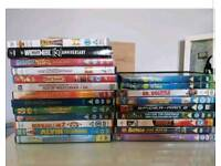 Roughly 50 dvds