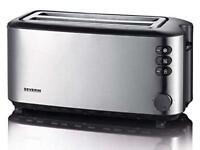 Severin 2509 Automatic 4-Slice Long Slot Toaster