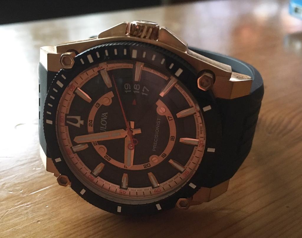 Bulova 98B152 Rose Gold Precisionist Watchin Bradford on Avon, WiltshireGumtree - Bulova 98B152 Rose Gold Precisionist WatchA beautiful watch that cost £399 new