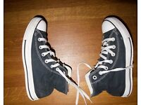 Black Converse All Star Ladies Size UK 5
