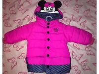 Baby girl 4-6 months winter coat
