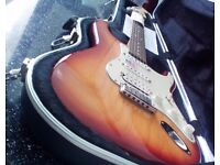 USA Fender strat 60th anniversary edition MINT