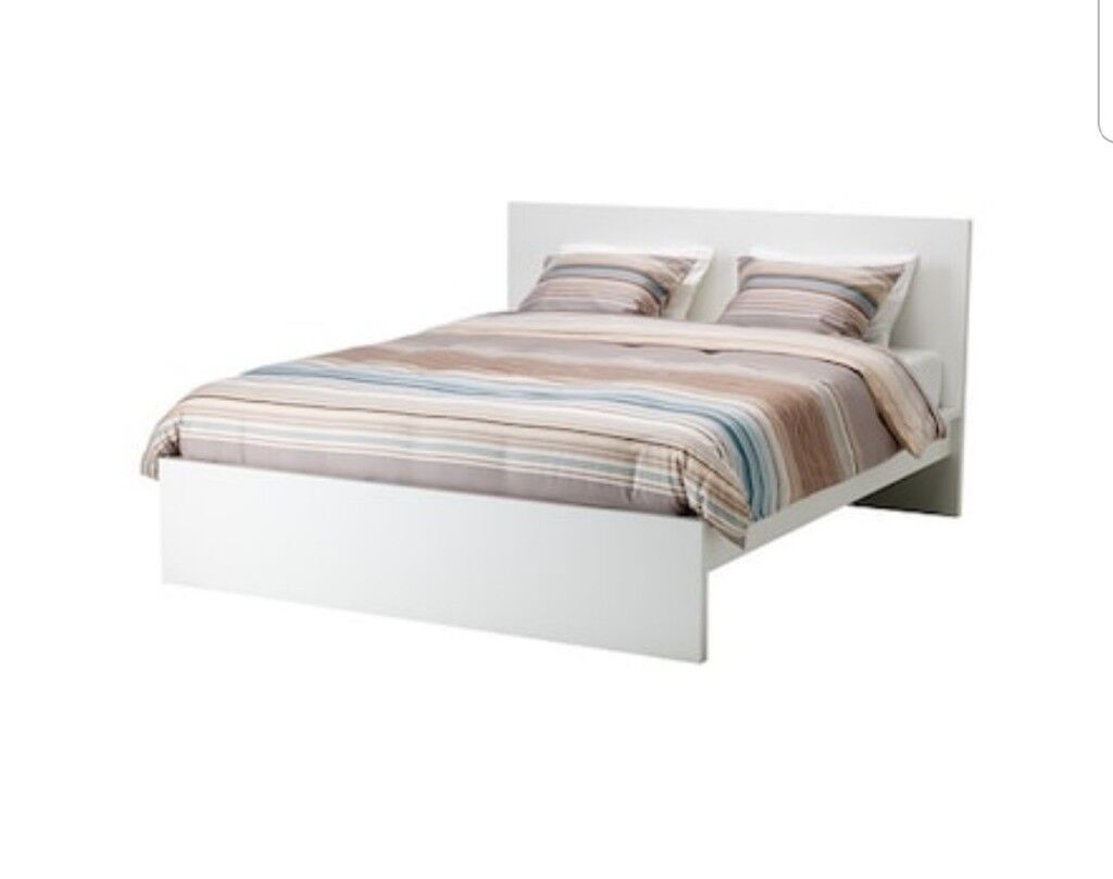 IKEA Malm king size white bed frame with drawers | in Haringey ...