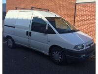 2002 52 Peugeot Expert 1.9Diesel 3 seater may 17 mot not scudo dispatch px