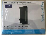 NETGEAR Wireless N300 300 Mbps Wireless Router (DGN2200-100UKS)