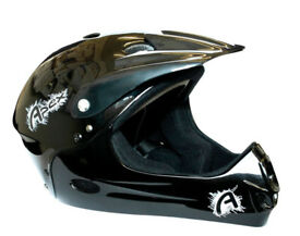 New Apex Full Face Youth Helmet Downhill Boys BMX MTB Bike Size M in Perfect Condition/ Boxed