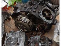 Xt 600 engine wheels Yamaha