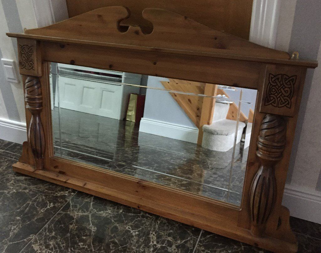 Man Cave Store Cookstown : Large solid wood mirror like new in cookstown county tyrone