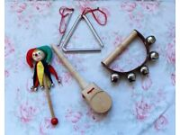 COLLECTION OF CHILDREN'S MUSICAL INSTRUMENTS
