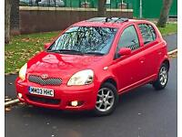 2003 03 Reg Toyota Yaris T-Spirit 1.4 Diesel £30 Road Tax 12 Months MOT 1 Lady Owner Service History
