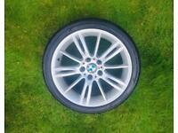 "BMW M Sport MV3 18"" Front Alloy Wheel & Tyre"