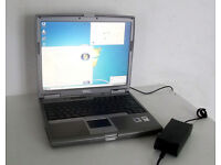 Dell Laptop (Latitude D610, 2GB Ram, WIFI, Pentium M, 2.0GHz, Win 7, Office 2010, DVD Writer, Dell)