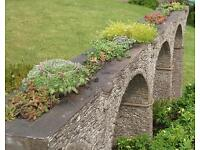 Garden ornament / model of the Moorswater viaduct.