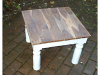 Indian Jali Mango Sheesham Solid Wood Coffee Table - Side Table - F&B