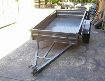 25$ Box trailer 7x4 feet for hire and rent in concord  Canada Bay Canada Bay Area Preview
