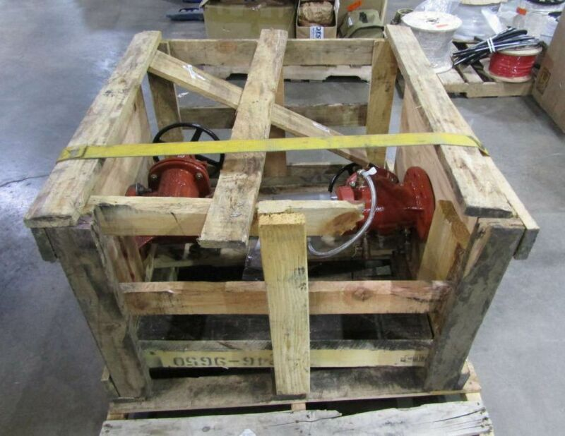 """Watts 957 Series 4"""" Reduced Pressure Zone Assembly Flanged"""