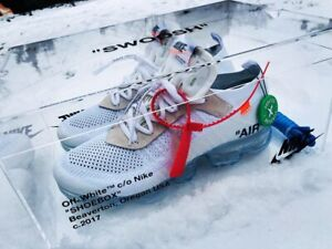 100% Authentic brand new Nike Air Max Vapormax off white