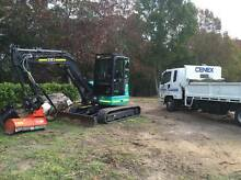 Excavator And Posi Track Hire Wyong Wyong Area Preview