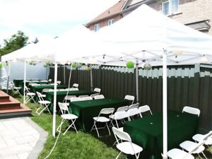 Party & Tent Rentals, Contact us today for Tents, tables
