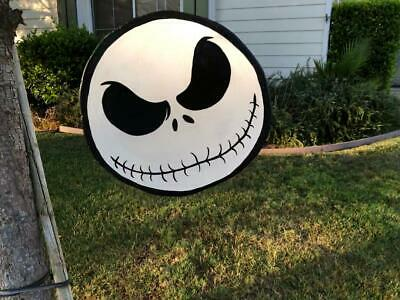 JACK SKELLINGTON ~ NIGHTMARE BEFORE CHRISTMAS ~ HALLOWEEN LAWN ART - YARD DECOR