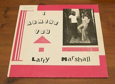 LARRY MARSHALL: I ADMIRE YOU - VINYL / LP - JAVA, JR001