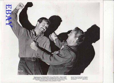 John Payne Fights Dennis O'Keefe Passege Wesr VINTAGE Photo