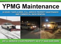 Commercial&Residential Snow Plowing & Salting Offered By YPMG