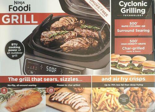 Ninja Foodi 4-in-1 Indoor Grill with 4-Quart Air Fryer Roast
