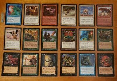 Magic the Gathering MtG Exodus 131 card collection NM+ Unplayed