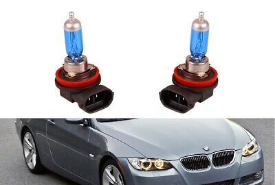 Gebraucht, 2x H8 Halogen Lampen Angel Eyes Ringe Standlichtringe BMW E90 E91 E92 E93 X6 X6 gebraucht kaufen  Birkenfeld