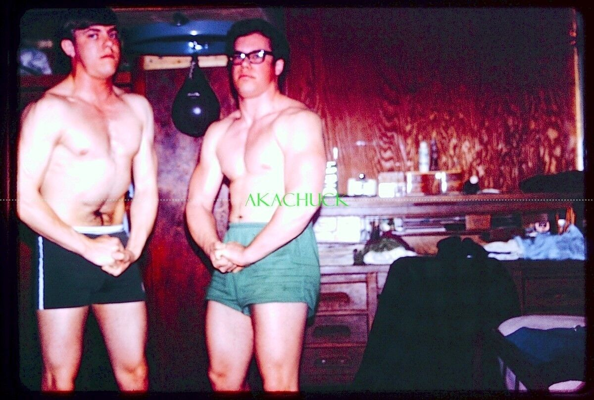 Details about 15 Slides US Air Force YOUNG CADETS WORKING OUT 1969 MUSCLE  FLEXING Gay Int A
