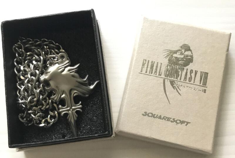 Final Fantasy VIII: Squall Leonhart Necklace FF 8 Vintage w/ Box